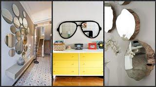 Gambar cover Decoraciones con espejos super lindas/ espejos para entradas ❤