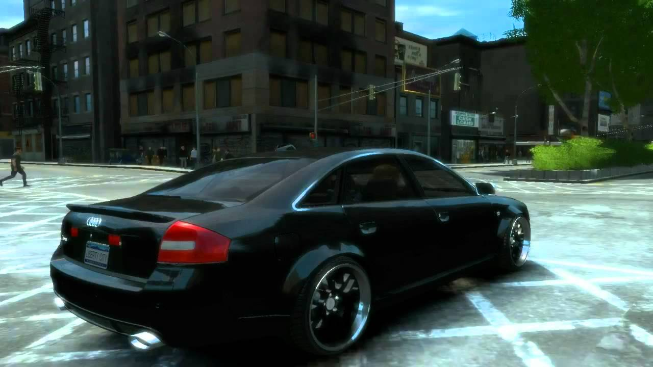 Grand theft auto iv 2003 audi rs6 hd pc