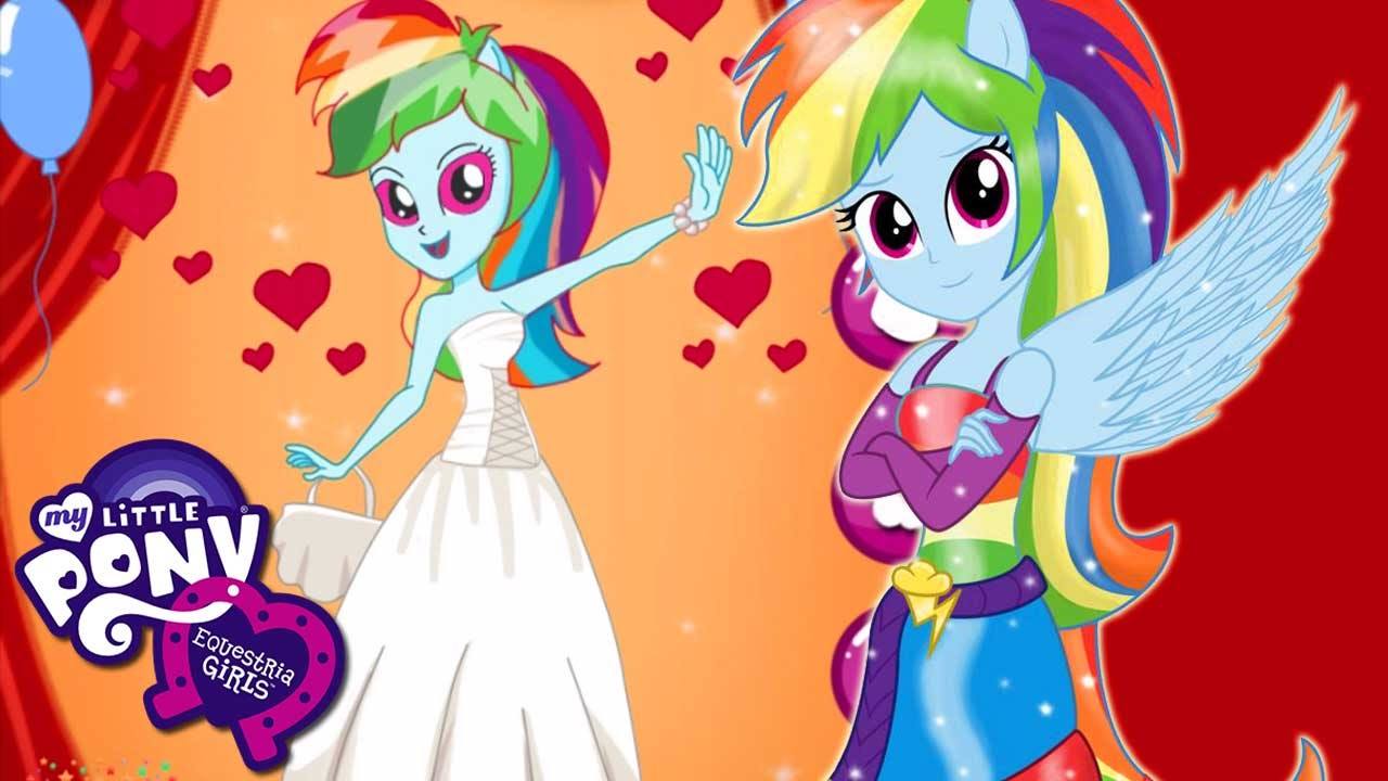 My little pony rainbow dash equestria girls