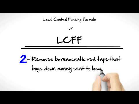 LCFF for  Circle of Independent Learning