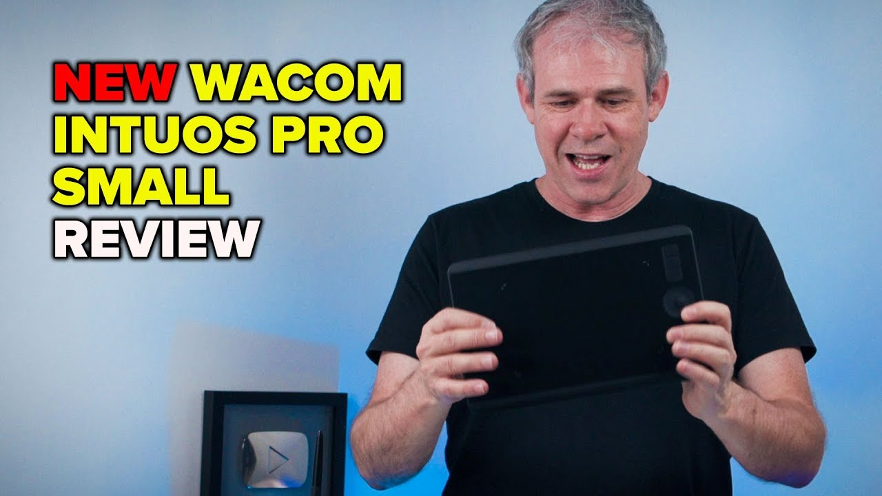 Wacom Intuos Pro Small pen tablet review and setup