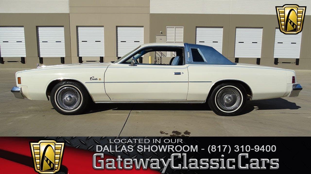 1977 Chrysler Cordoba #567-DFW Gateway Classic Cars of Dallas ...