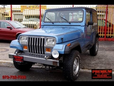 1989 Jeep Wrangler Laredo Yj 4x4 Amc Youtube
