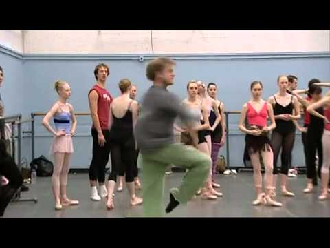 Baryshnikov lesson in New York City Ballet (2003)
