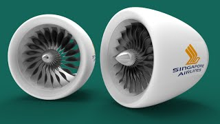 3d Modelling Jet Engine With Propeller In Autocad
