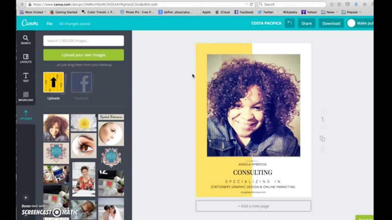 how to make business branding flyers using canva how to make business branding flyers using canva