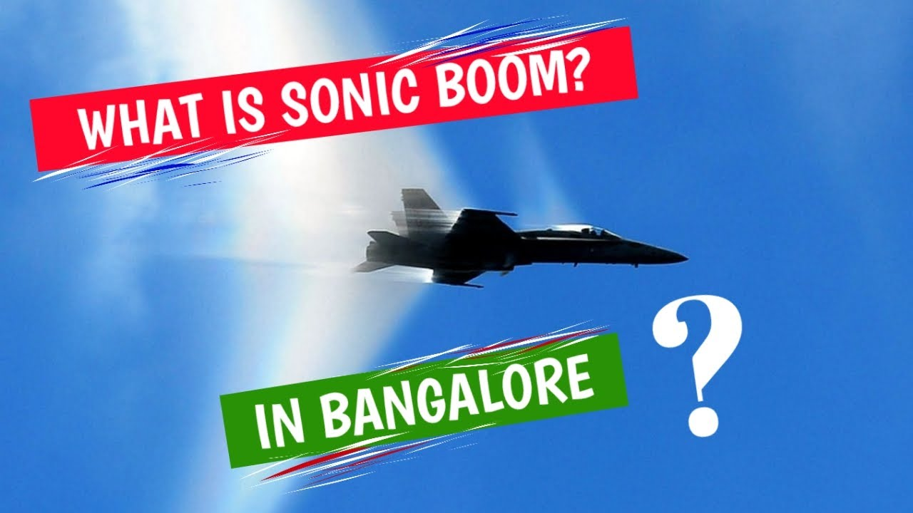 WHAT IS SONIC BOOM? SONIC BOOM IN BENGALURU 2020 ...