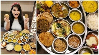 Unlimited Rajasthani Thali at Rajdhani Restaurant, Connaught Place | Best Food in Delhi