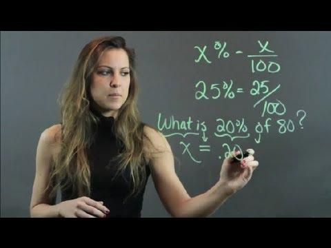 Tutorial On Percentages : High School Math Help
