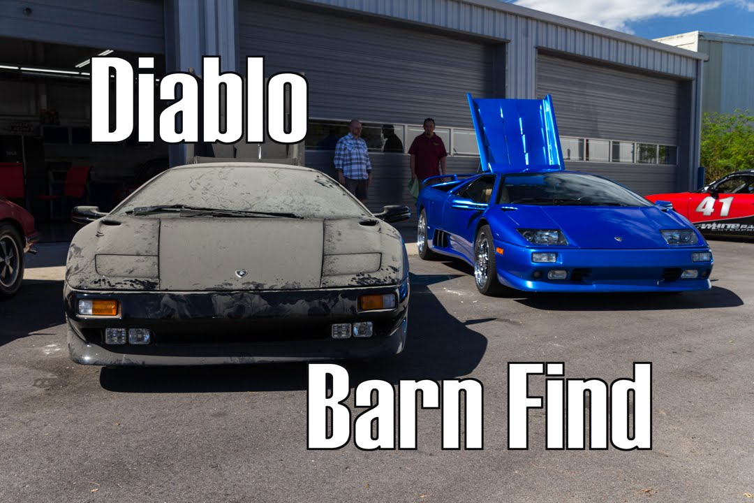 Barn Find 1991 Lamborghini Diablo
