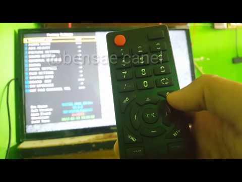 Cara Masuk Factory Seting Tv Panasonic Untuk Membuka Kunci Dan Melakukan Perubahan Data