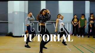 I Got You - Bebe Rexha DANCE TUTORIAL| @DanaAlexaNY Choreography