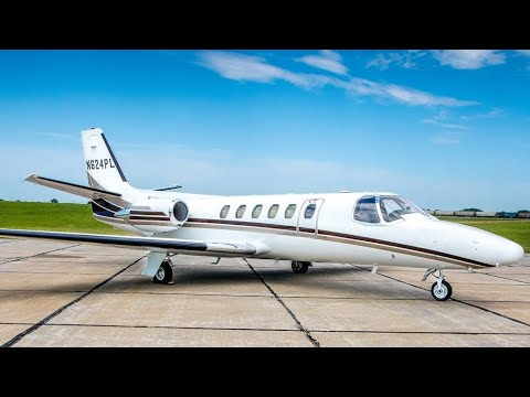 Cessna Citation II Private Jet For Under $1 Million