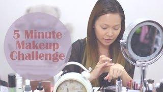 5 Minute Makeup Challenge!! Thumbnail