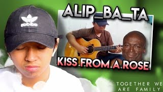 Alip_Ba_Ta   KISS FROM A ROSE - SEAL   FINGERSTYLE COVER   Reaction   Pinoy Teen in UK Reacts