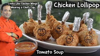 Chicken Lollipop - Easy Tips for making chicken wings Lollipop Why Only  Rasam? Try Tomato Soup -?