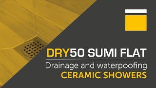 DRY50 Sumi Flat