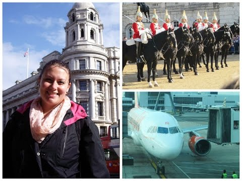 Vlog Londres | Dia 2 Parte 2 | Changing The Guard (Cavalry), Oxford Street, Gatwick Airport