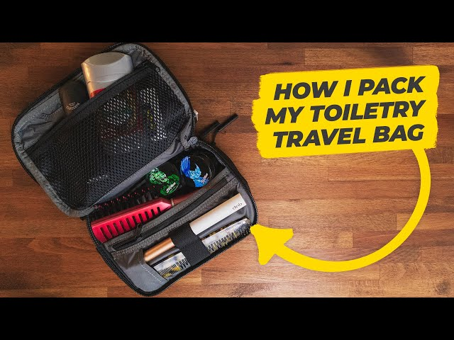 What's in my dopp kit? | All my travel toiletry bag essentials • Effortless Gent