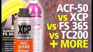 How to prevent rust on your motorcycle   ACF-50, XCP, S-Doc, FS 365, ACS TC, WD40, Muc-Off review