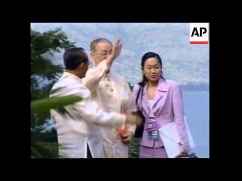Philippines: Manila: APEC Summit Opens - 1996
