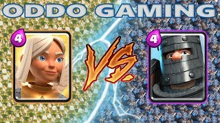 BATTLE HEALER VS DARK PRINCE - CLASH ROYALE BATTLE #30