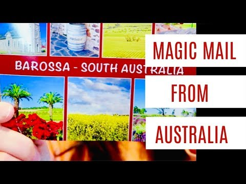 MAGIC MAIL Trying Australian Chocolate Goodies SPACE FOOD