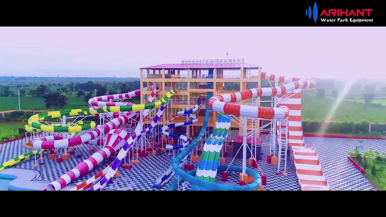 Tornado Water Park Indore India Youtube