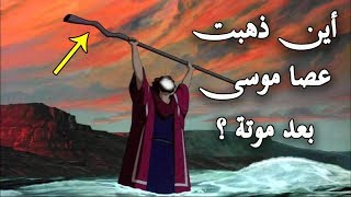 هل تعلم أين ذهبت عصا موسى-عليه السلام- بعد موته ؟؟ وأين توجد الان ؟ شاهد الحقيقة كاملة