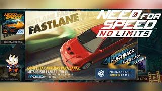 Need For Speed No Limits Android Mitsubishi Lancer Evo VI FlashBack Dia 1 Crucero