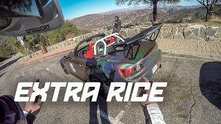 EXTRA RICE + Triumph 675, FZ-09, SoCal Riding + more!