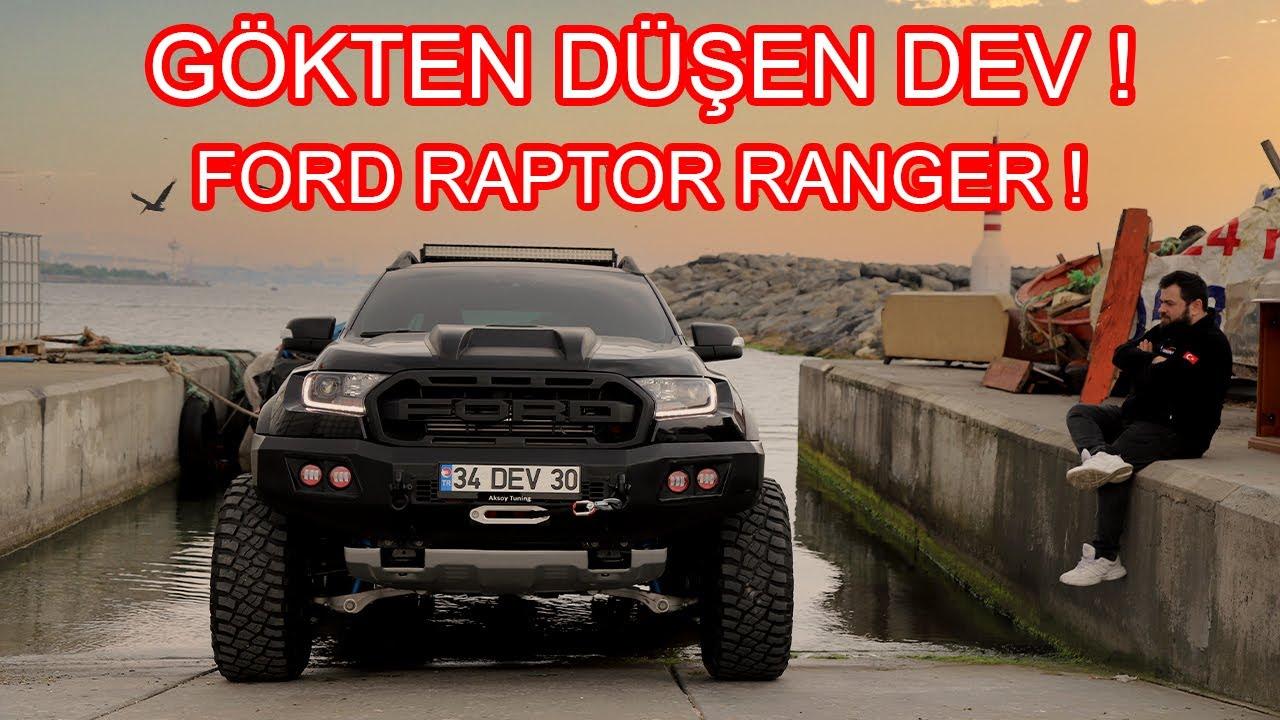 DEV Ford Raptor Ranger Dönüşüm ! Gökten Düşen Araba !