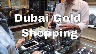 Discover Dubai Gold Shopping