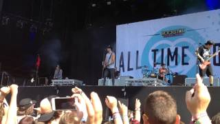 All time low - Something's gotta give (pukkelpop 2015)