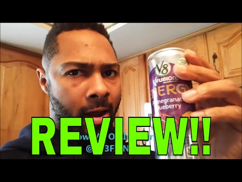 My V8 Fusion Energy Drink Review!! Does It Really Give You N
