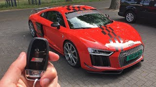 802HP MTM Audi R8 V10 Plus SUPERCHARGED - ONBOARD ACCELERATIONS!