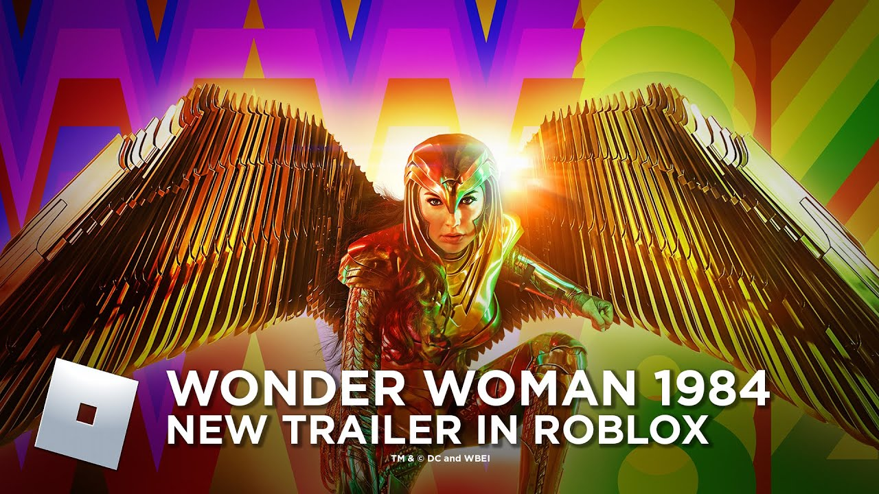 Wonder Woman 1984's New Trailer in Roblox
