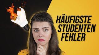 10 FEHLER, die Studenten niemals machen sollten!   Studenten-Tipps   Sara Casy