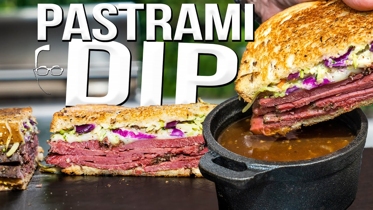PASTRAMI FRENCH DIP SANDWICH | SAM THE COOKING GUY 4K