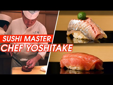 $300 OMAKASE AT SUSHI YOSHITAKE | Best Sushi in Japan | 3 Michelin Star Sushi Experience | 스시