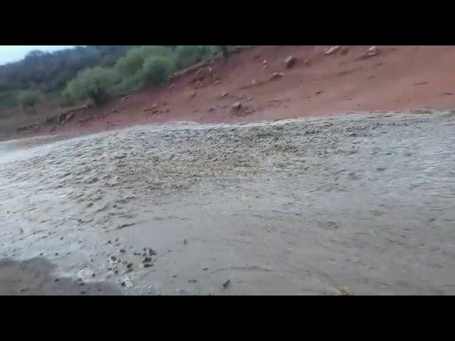 Así entraba agua a represa de Baldes del Rosario (26/nov/20)
