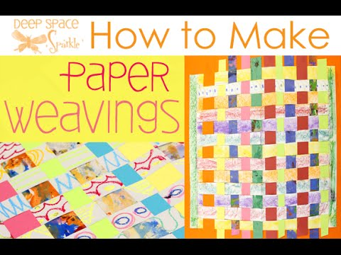 How to Make a Woven Paper Placemat