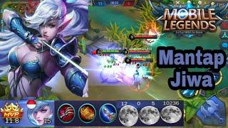Miya build item fast and high damage - Mobile legends