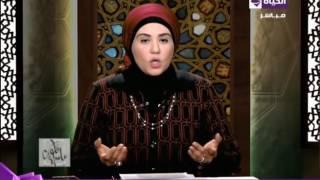 «نادية عمارة» توضح حكم النذر للسيدة زينب وآل البيت.. فيديو