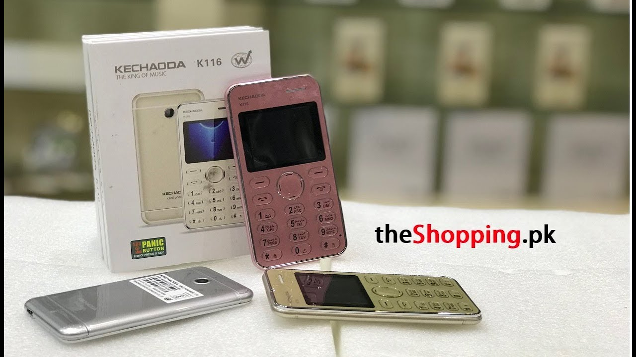 KECHAODA K116 CARD PHONE ALL COLORS REVIEW