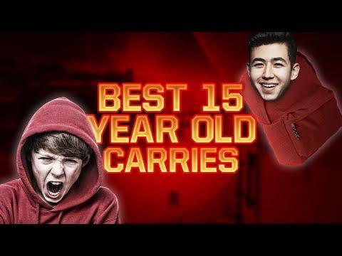 BEST 15 YEAR OLD COD PLAYER CARRIES ATTACH (TOURNAMENT FINALS)