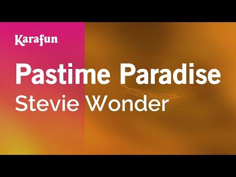 Karaoke Pastime Paradise - Stevie Wonder *