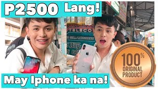 ₱2500 MURANG IPHONE! HOW TO CHECK IF IT'S ORIGINAL?