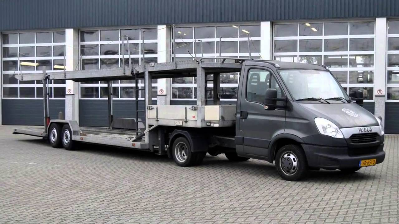 Iveco Daily Be Autotransporter 5 Lader 6 400kg