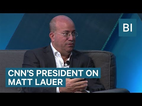 CNN's President Jeff Zucker On Matt Lauer Being Fired